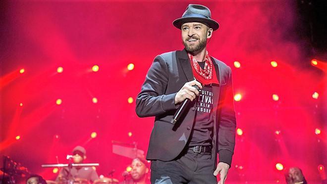 Justin Timberlake đùa cợt về vụ lộ ngực Janet Jackson ở Super Bowl-1