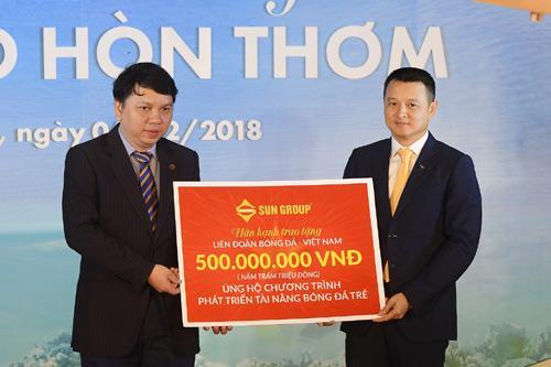 Sun Group tặng U23 VN 1 tỷ đồng và voucher nghỉ dưỡng-2