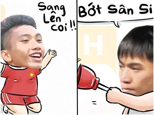 Hãy để các cầu thủ U23 Việt Nam giúp bạn 'thay lời muốn nói'