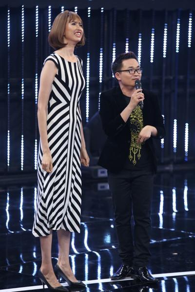 HÀI HƯỚC: Dàn sao Việt bị mẫu nữ 1m90 dìm hàng chiều cao thê thảm-4
