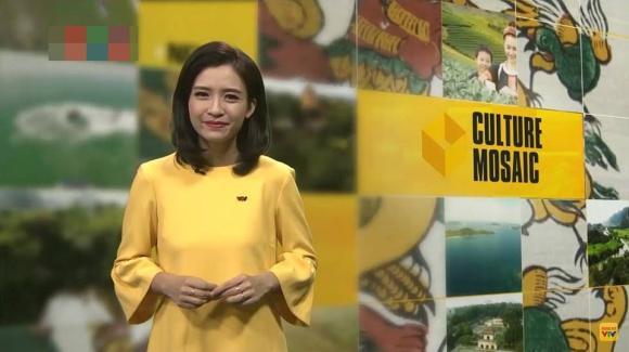 Chân dung nữ MC xinh đẹp nhà đài trò chuyện với Xuân Trường trên sóng VTV-3