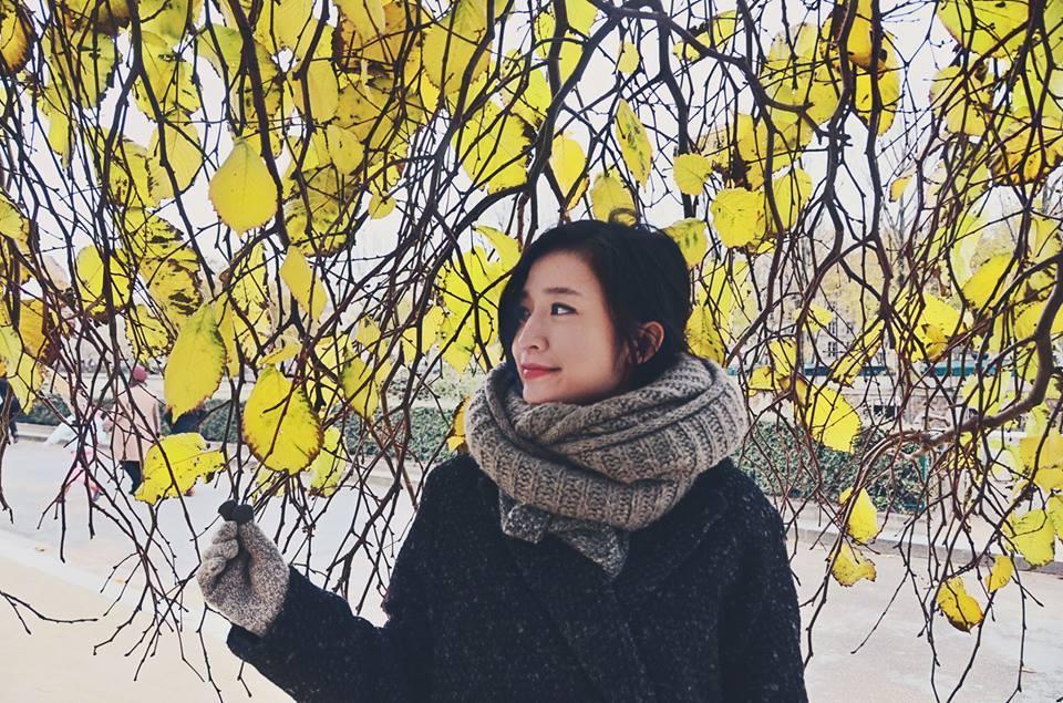 Chân dung nữ MC xinh đẹp nhà đài trò chuyện với Xuân Trường trên sóng VTV-6