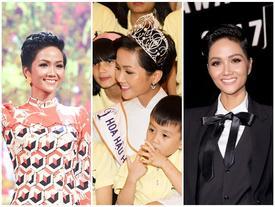 Tròn một tháng đội vương miện, H'Hen Niê phá lời nguyền 'hoa hậu thị phi sau đăng quang'