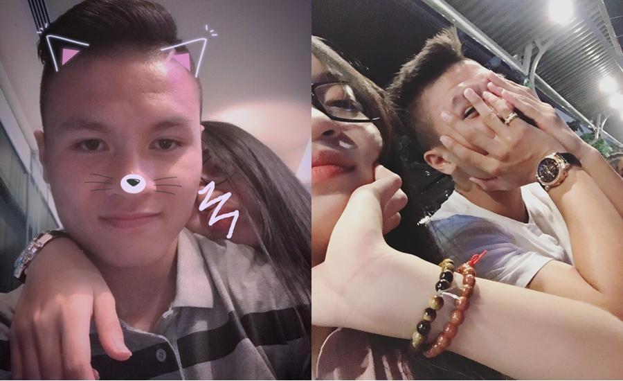 Ở bên bạn gái, cầu thủ quốc dân Quang Hải thay đổi 180 độ thành mèo ngoan-8