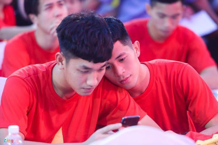 Điểm danh loạt cầu thủ được ghép đôi nhiều nhất của đội tuyển U23 Việt Nam-8