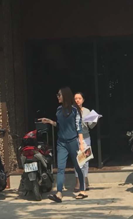 Đàm Thu Trang xuất hiện phờ phạc khi có tin trục trặc với Cường Đô la-1