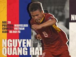 Báo châu Á đề cử Quang Hải ở hạng mục 'Cầu thủ trẻ hay nhất Đông Nam Á'