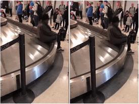 Chết cười với món 'hàng lạ' xuất hiện ở sân bay