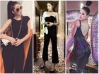 Ngọc Trinh khoe street style kín đáo 'đánh bại' Angela Phương Trinh diện váy mỏng tang