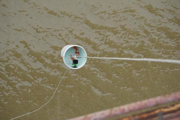 Sợ 'tắc đường', người dân mang cá chép thả tiễn ông Công ông Táo về trời sớm-8