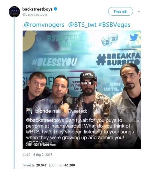 Đến huyền thoại Backstreet Boys cũng là fan bự, mời hẳn BTS tham dự concert-2