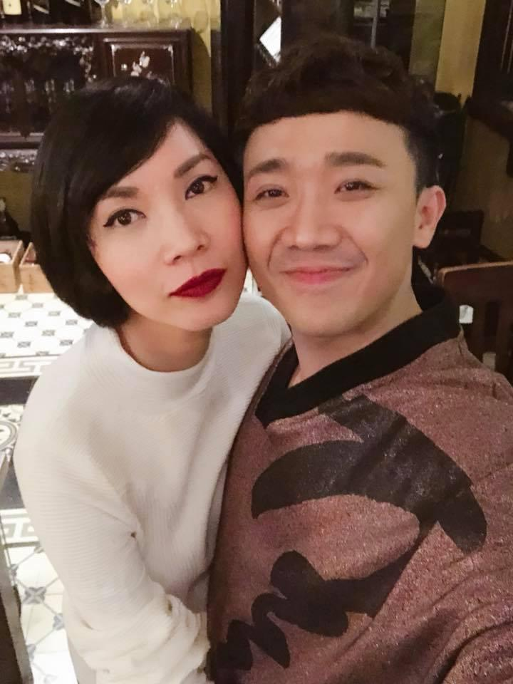 50 sắc thái của Trấn Thành khi được Hari Won âu yếm trước máy quay-4