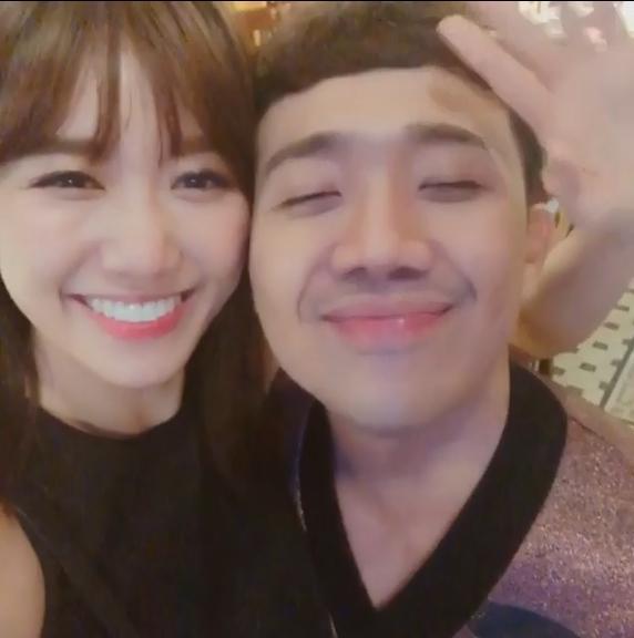 50 sắc thái của Trấn Thành khi được Hari Won âu yếm trước máy quay-14