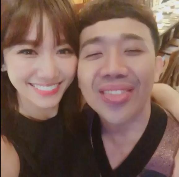 50 sắc thái của Trấn Thành khi được Hari Won âu yếm trước máy quay-15