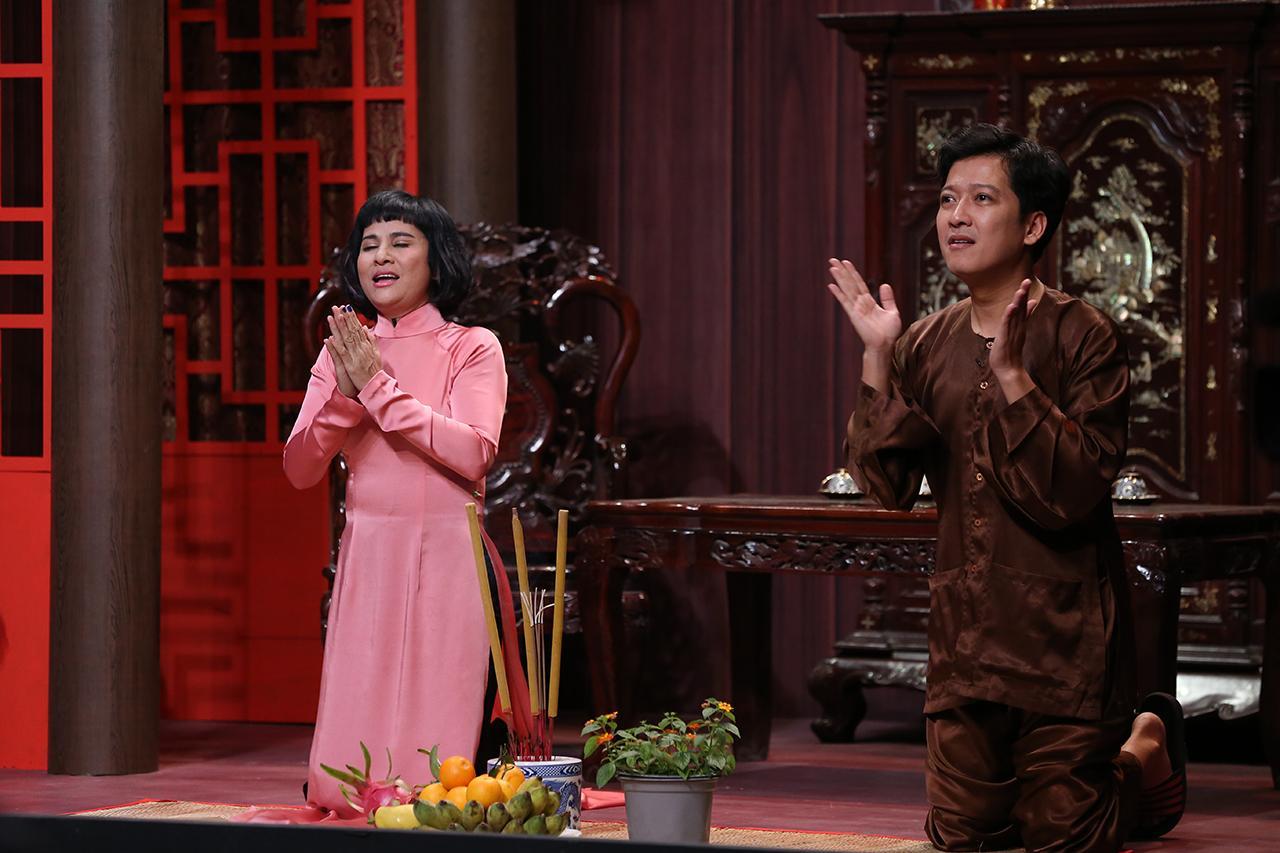 Cát Phượng công khai nói lời yêu Kiều Minh Tuấn trên truyền hình-1