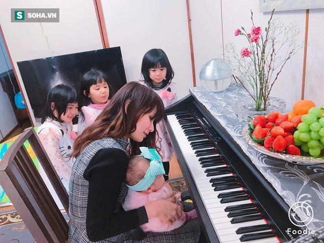 Người phụ nữ Việt và 4 đứa con vô cùng đáng yêu trên đất Nhật gây sốt-4