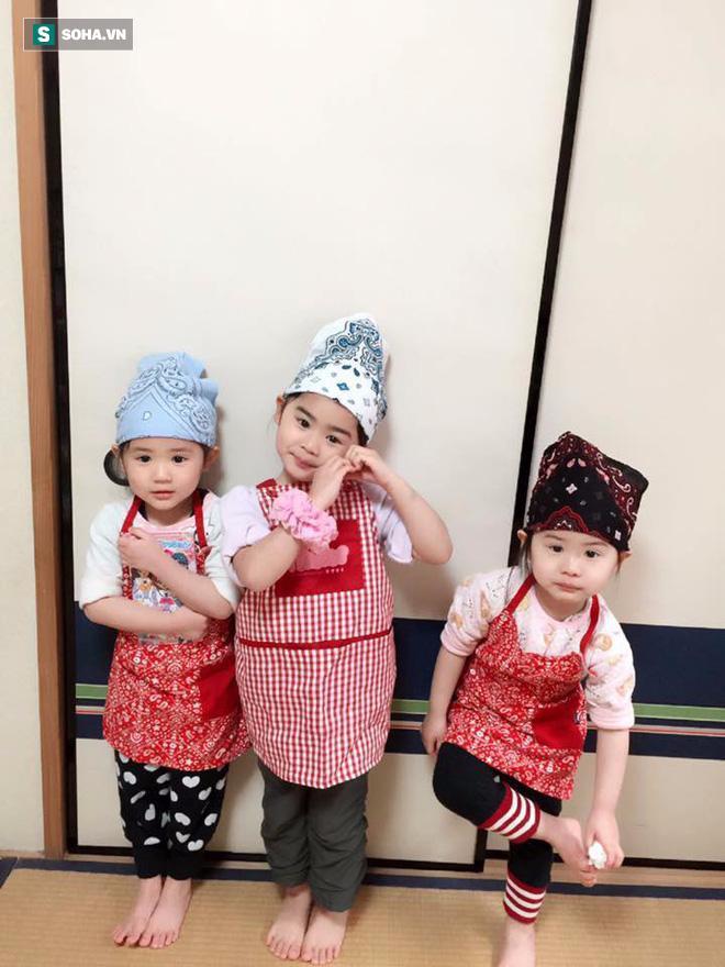Người phụ nữ Việt và 4 đứa con vô cùng đáng yêu trên đất Nhật gây sốt-6