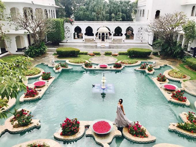 Kỳ nghỉ của vợ chồng Đoan Trang ở Ấn Độ trước Tết-4