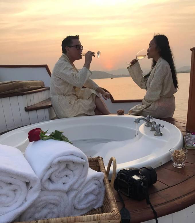 Kỳ nghỉ của vợ chồng Đoan Trang ở Ấn Độ trước Tết-5