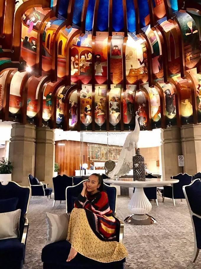 Kỳ nghỉ của vợ chồng Đoan Trang ở Ấn Độ trước Tết-7