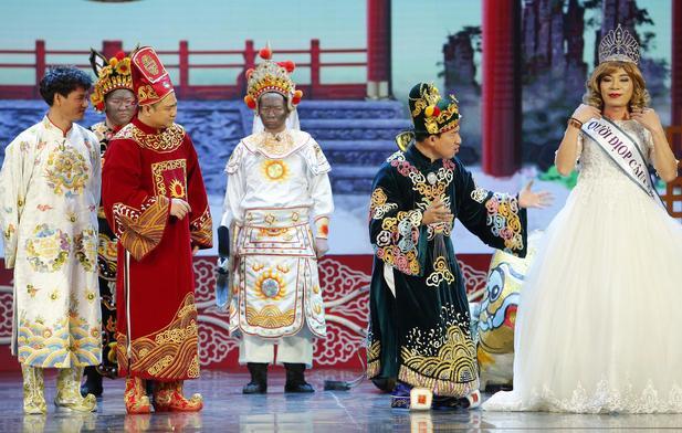 Táo Quân 2018 tung trailer cực hot: Cô Đẩu Công Lý đăng quang Hoa hậu-1