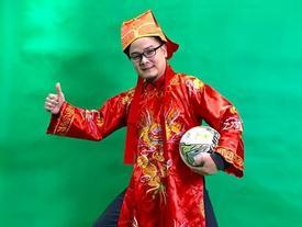Clip: Xuất hiện 'Táo bóng đá' ca ngợi U23 Việt Nam trên nền nhạc 'Gangnam Style'
