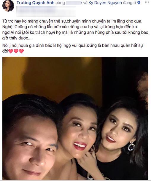 Vợ chồng Bình Minh trừ tà giữa ồn ào nghi vấn gọi Trương Quỳnh Anh là phở sân bay-4