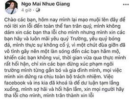 Chưa khiến fans nguôi giận, bạn gái Xuân Trường tiếp tục viết tâm thư dài xin lỗi