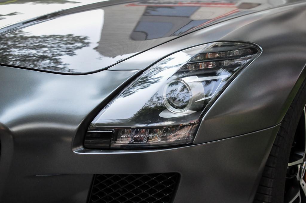 Mercedes SLS AMG GT nhà chồng Tăng Thanh Hà tái xuất trên phố-3