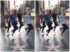 Điệu nhảy lò cò của 4 anh em thách thức nhiều bạn trẻ