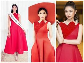 Tưởng đổi phong cách mới mẻ, ai dè Hari Won lại mặc 'đầm cũ' của Hoàng Thùy, Thùy Dung