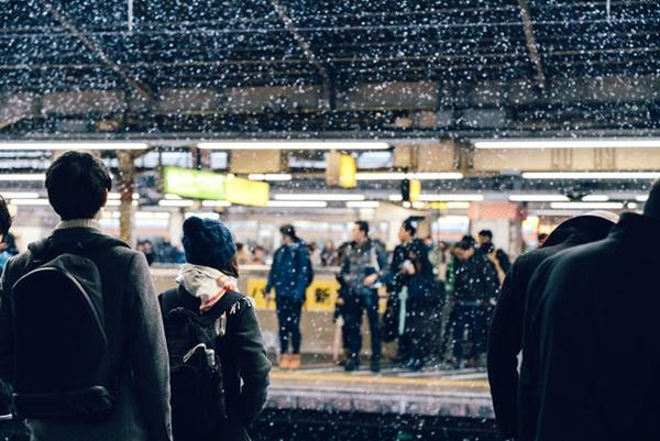 Tokyo đẹp nghẹt thở trong màn tuyết giá buốt-9