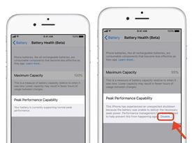 Cách kiểm tra tình trạng pin, tắt tùy chọn làm chậm iPhone cũ ở iOS 11.3 beta