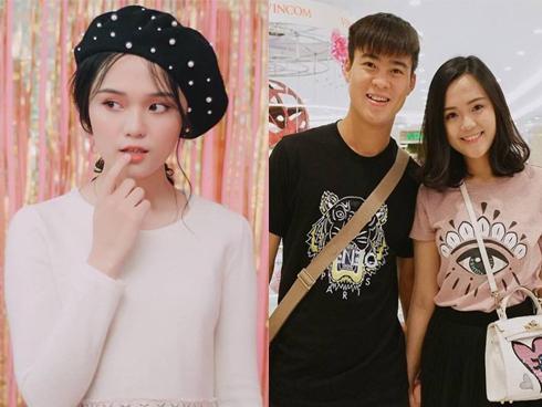 Bạn gái Đỗ Duy Mạnh U23: 'Dù có hàng ngàn vệ tinh vây quanh, tôi luôn tin tưởng anh Mạnh'