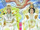 Đàm Vĩnh Hưng và Cẩm Ly diện long bào quyền lực trong Táo Quân 2018