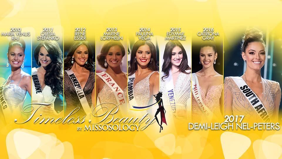 Nhan sắc tuyệt mỹ của dàn Hoa hậu đẹp nhất Thế giới qua các mùa bình chọn gắt gao-1