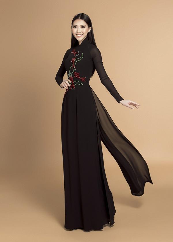 Ngắm loạt ảnh này để thấy khó có ai mặc áo dài đẹp và gợi cảm hơn Tường Linh-5
