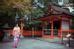 Á hậu tuổi Tuất cho biết, cô bị ấn tượng bởi nét đẹp pha trộn giữa hiện đại và truyền thống của Nhật Bản.