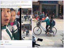 Hai học sinh lớp 7 cầm 200.000 đồng mạnh dạn đi mua iPhone 7 trả góp