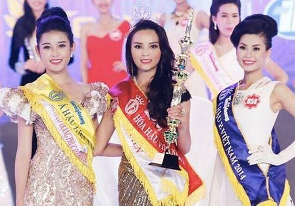 Top 3 Hoa hậu Việt Nam 2014 sau 4 năm: Vì gia đình mà kẻ vượt chông gai, người lặng lẽ sống-5