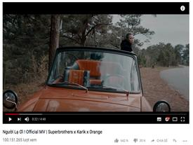 MV 'Người lạ ơi' cán mốc 100 triệu lượt xem trên Youtube, chính thức soán ngôi vương 'Nơi này có anh' của Sơn Tùng