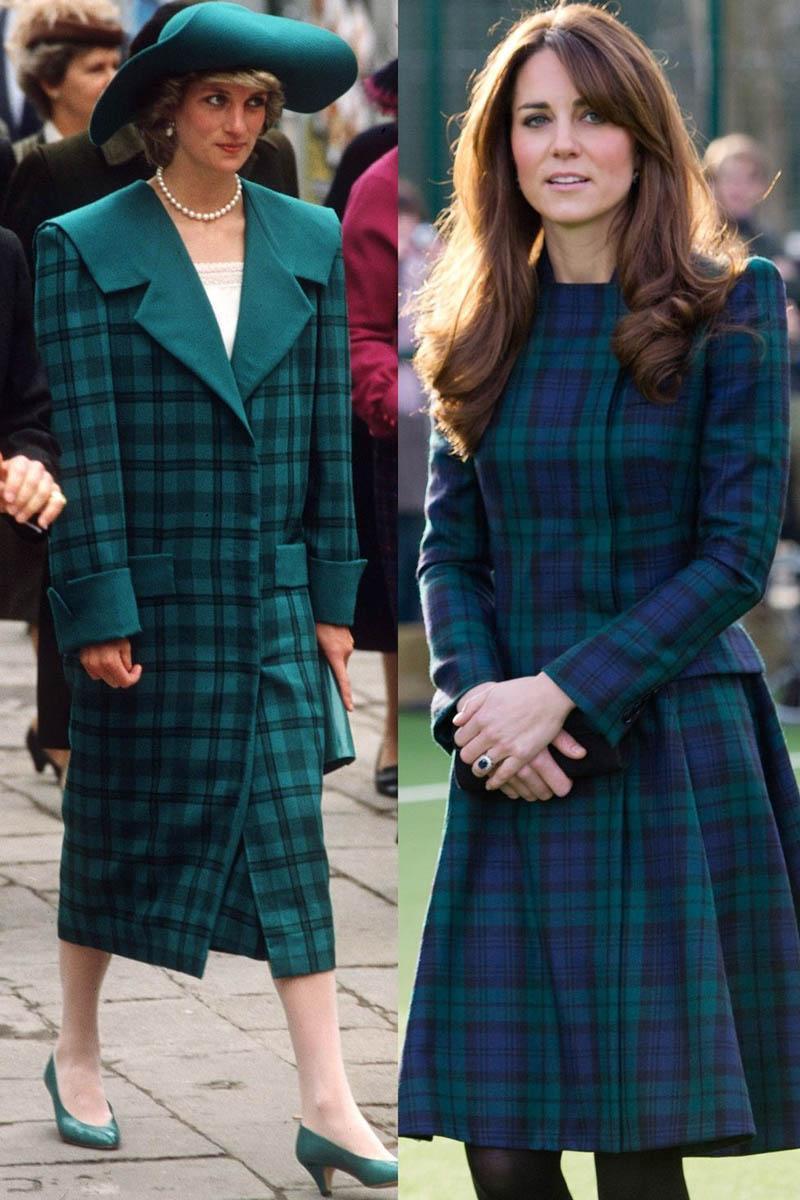 Ít có nàng dâu nào thích mặc đồ đôi với mẹ chồng như công nương Kate-1