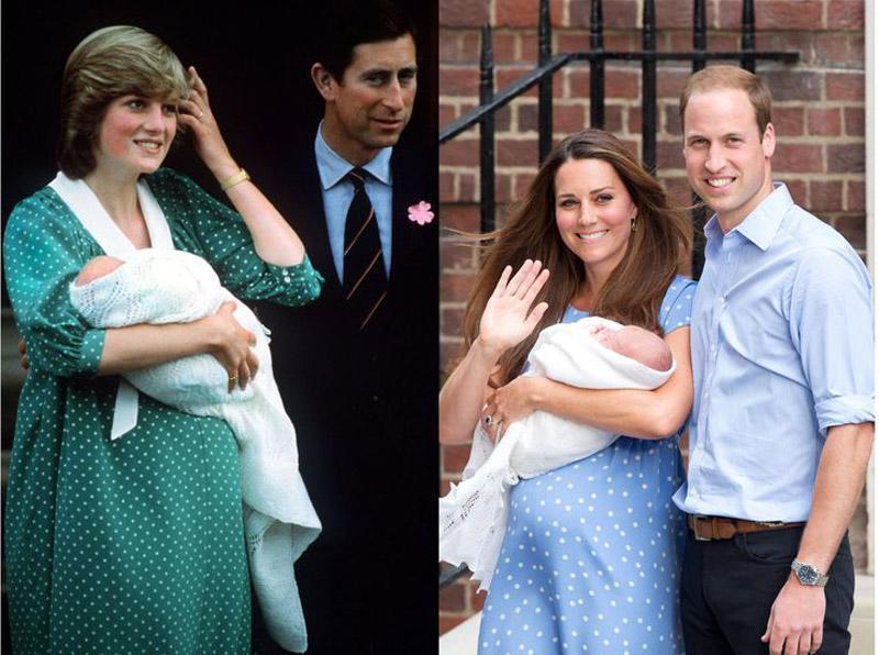 Ít có nàng dâu nào thích mặc đồ đôi với mẹ chồng như công nương Kate-2