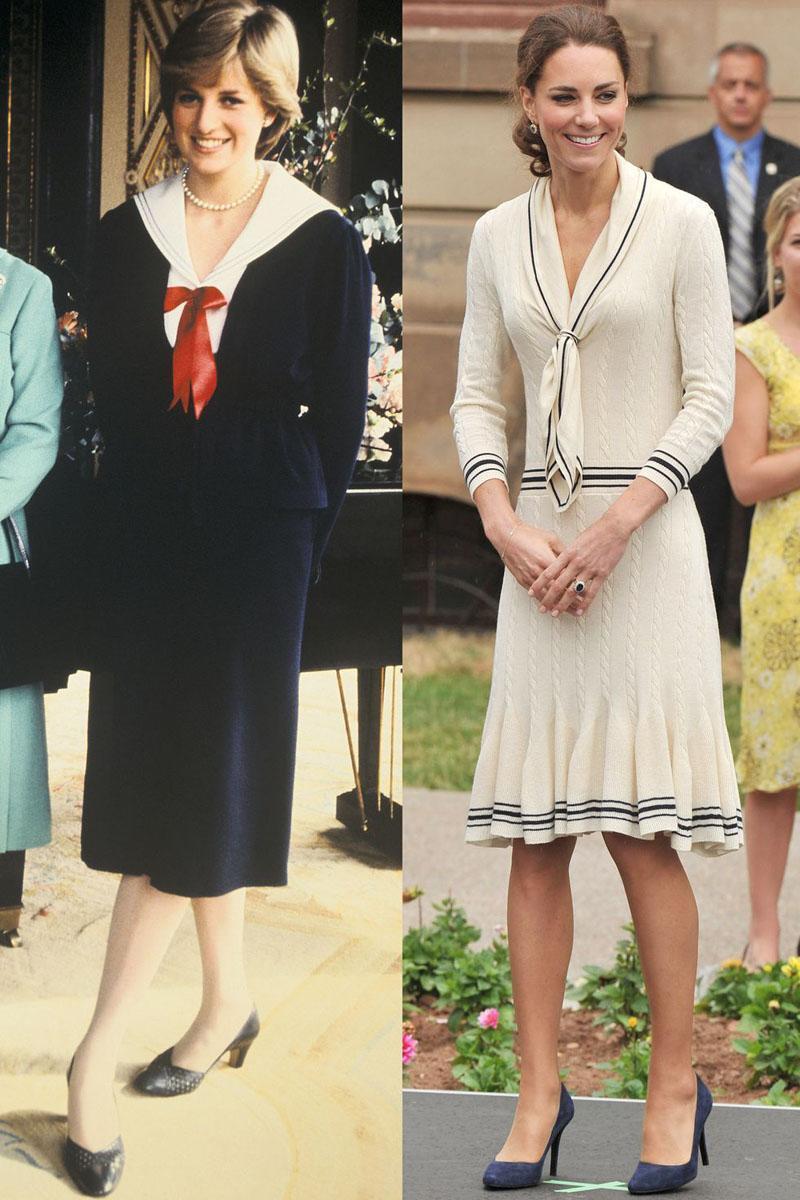 Ít có nàng dâu nào thích mặc đồ đôi với mẹ chồng như công nương Kate-13