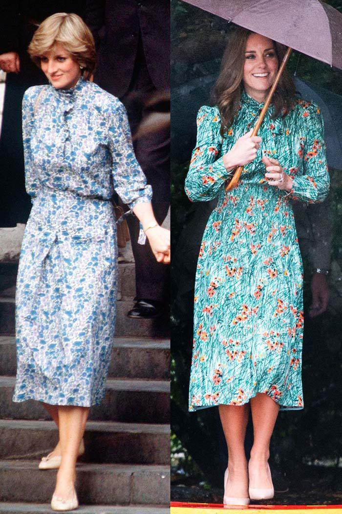 Ít có nàng dâu nào thích mặc đồ đôi với mẹ chồng như công nương Kate-8