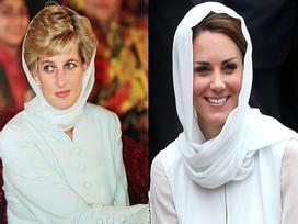 Ít có nàng dâu nào thích mặc 'đồ đôi' với mẹ chồng như công nương Kate