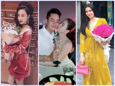 Hồ Ngọc Hà - Angela Phương Trinh dẫn đầu xu hướng nhung rực rỡ đón chào năm mới