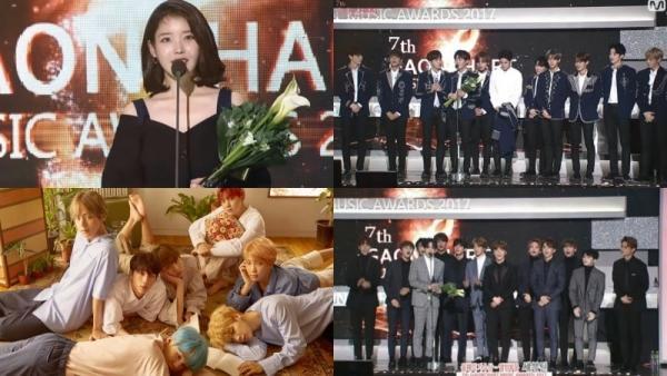Trao giải cả Kpop, 'Gaon Chart Music Awards 2017' vẫn không hết nhạt vì thiếu BTS - EXO-2