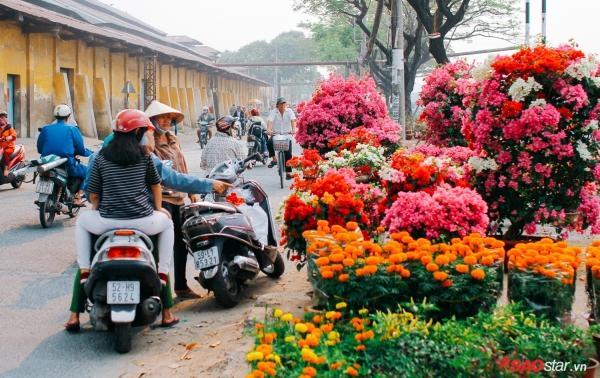 Chiều cuối năm, lang thang ở những chợ hoa truyền thống Sài Gòn đã thấy Tết về đến nơi rồi!-4