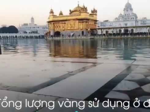 4 công trình tôn giáo dát vàng lộng lẫy trên thế giới